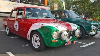Footage: Weekend Italiano Storico 2016 - Gran Premio Alfa Romeo (ATMO)