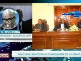Jean-Claude Mvuemba réagit au communiqué de la CENCO sur un dialogue selon le respect de la Constitution