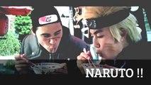 NARUTO vs SASUKE real life feat Rasengan vs Chidori