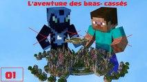Minecraft PC - L'aventure des bras cassés #1 - Ça commence mal :(