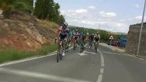 Ataque de Bouet en la escapada / Bouet attacks in the breakaway - Etapa / Stage 17 - La Vuelta a España 2016