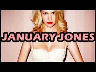 Betty Goes Bold - January Jones Goes TOPLESS For New Western Movie