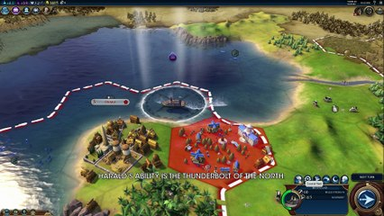 First Look Norway de Civilization VI