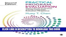 [PDF] Practical Program Evaluation: Theory-Driven Evaluation and the Integrated Evaluation