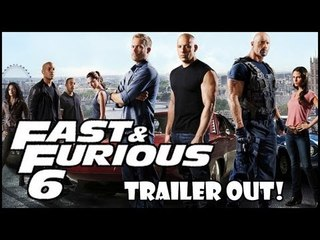 Latest Hollywood Trailer Review: Fast & the Furious 6 Starring VIN DIESEL & 'THE ROCK'