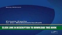 [PDF] Private Equity in der Medienwirtschaft: Bedarf und Eignung von Private-Equity-Beteiligungen