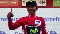 """La Vuelta 2016 - Nairo Quintana : """"C'est une bonne journée, une bonne opération pour moi cette 17e étape de La Vuelta"""""""