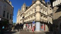 Il peint la Normandie en 80 tableaux : 16e étape à Alençon