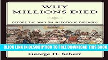 Collection Book Why Millions Died: Before the War on Infectious Diseases