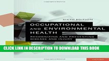 [PDF] Occupational and Environmental Health: Recognizing and Preventing Disease and Injury Popular