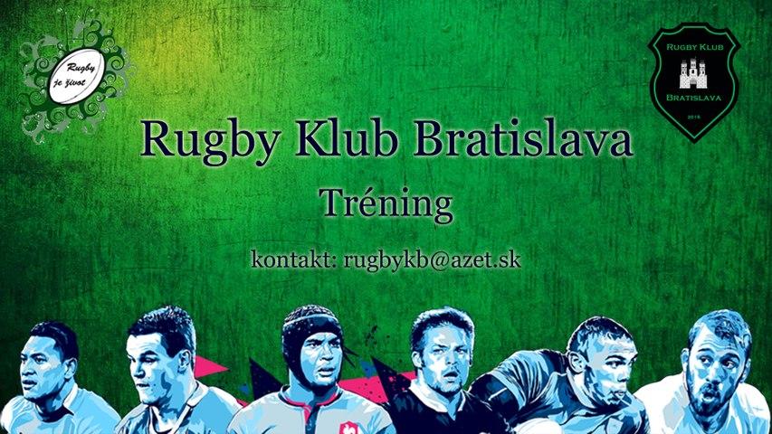 Rugby Klub Bratislava Training 7th September 2016 Seniors Juniors U14-16-18