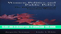 [PDF] Women, Politics, and Public Policy: The Political Struggles of Canadian Women Full Colection