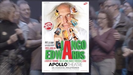 Jango Edwards à l'Apollo Theatre - Teaser