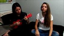 La Vie En Rose - Edith Piaf (Ukulele cover by Em and Bella)