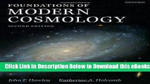 [Reads] Foundations of Modern Cosmology Online Books