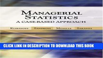 [PDF] Managerial Statistics: A Case-Based Approach (with CD-ROM and Harvard Cases) Popular Colection