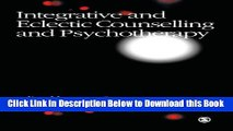[Best] Integrative and Eclectic Counselling and Psychotherapy Online Books