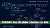 [Download] The Forgotten Kin: Aunts and Uncles Free Books