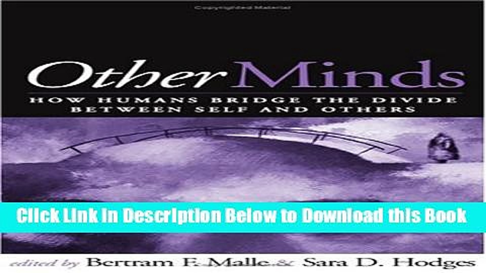 [Reads] Other Minds: How Humans Bridge the Divide between Self and Others Online Ebook