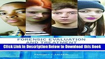[Reads] Forensic Evaluation and Treatment of Juveniles: Innovation and Best Practice Free Books