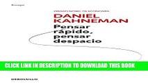 [Read PDF] Pensar rapido, pensar despacio (Psicologia (Debolsillo)) (Spanish Edition) Ebook Online