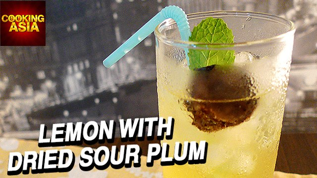 How To Make Lemon With Dried Sour Plum | Cooking Asia