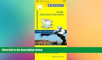 FREE DOWNLOAD  Michelin FRANCE Aude, Pyrénées-Orientales Map 344 (Maps/Local (Michelin)) READ
