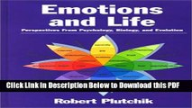 eBook Free Emotions and Life: Perspectives from Psychology