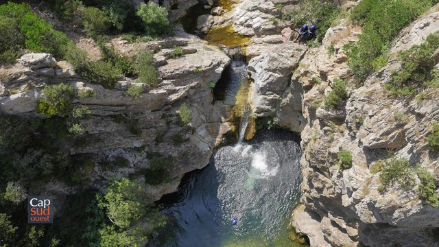 Cap Sud Ouest canyoning en Pays Cathare