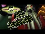 Ben 10 Alien Force: Vilgax Attacks All Bosses | Boss Battles (X360, PS2, PSP, Wii)