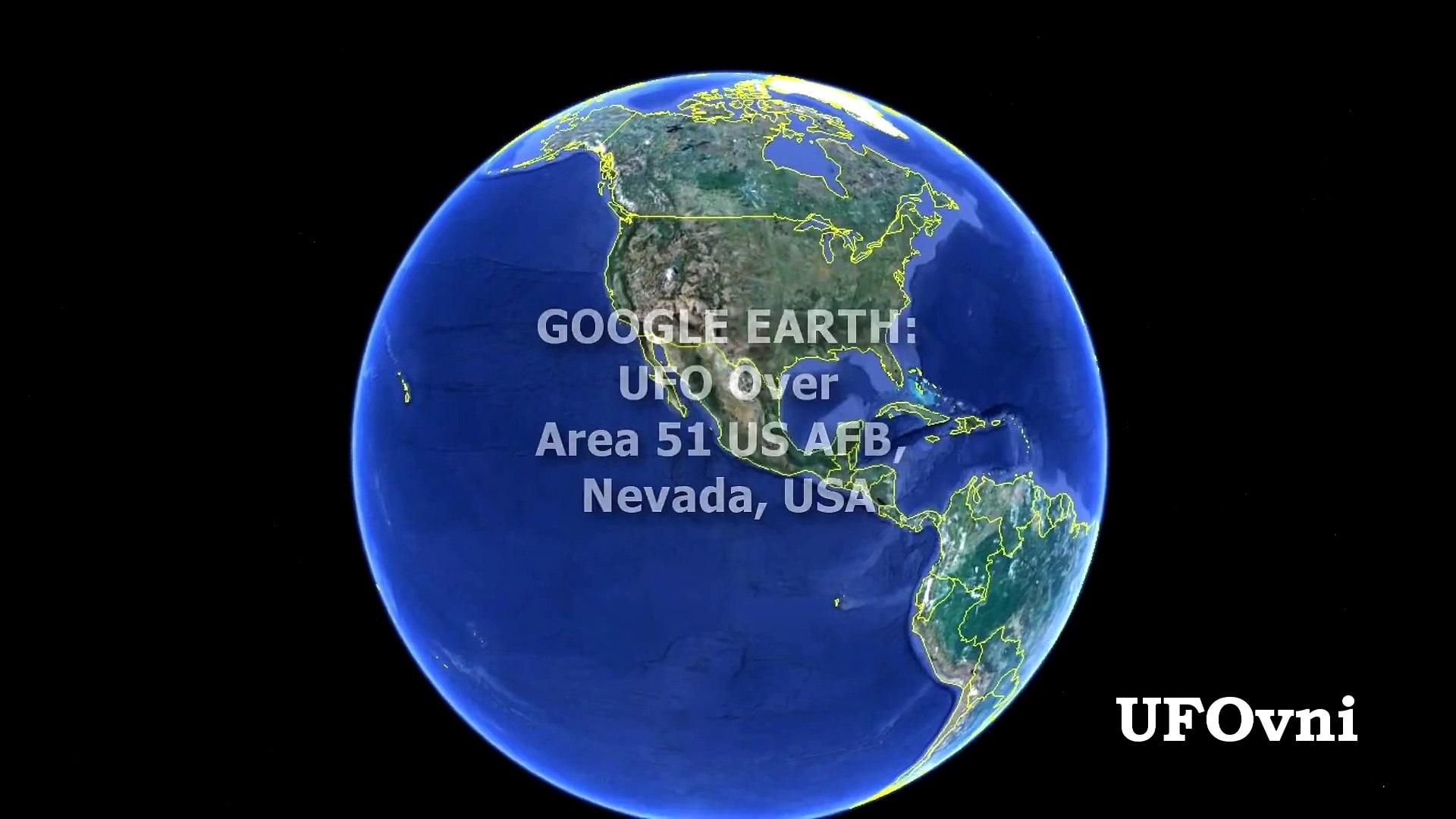 Amazing! UFO Discovered Near Area 51 & Area S4 On Google Earth Map! April 2013