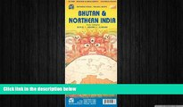 behold  Bhutan   Northern India 1:345 000/1:2 100 000 (International Travel Maps)