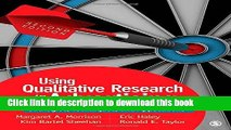 Download Using Qualitative Research in Advertising: Strategies, Techniques, and Applications  PDF