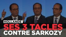 Les 3 moments où Hollande a taclé Sarkozy