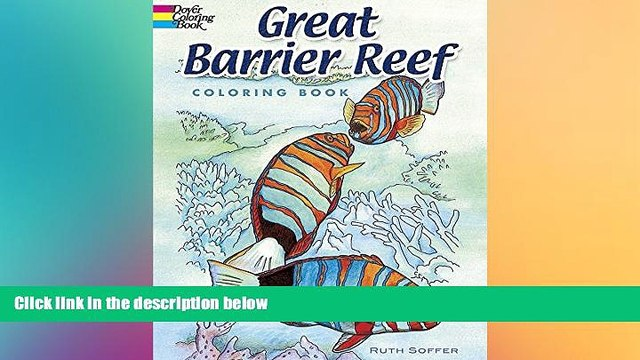 different   Great Barrier Reef Coloring Book (Dover Nature Coloring Book)