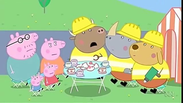 Peppa Pig English Episodes Season 4 Episode 44 Mr Bull in a China Shop Full Episodes 2016