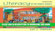New Book Literacy in the Middle Grades: Teaching Reading and Writing to Fourth Through Eighth