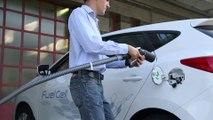 Voiture à hydrogène : une station-service hybride testée en Suisse