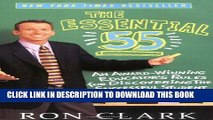 New Book The Essential 55: An Award-Winning Educator s Rules For Discovering the Successful