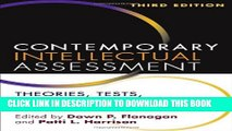 New Book Contemporary Intellectual Assessment, Third Edition: Theories, Tests, and Issues