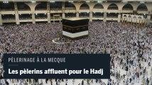 Pèlerinage à La Mecque : les fidèles commencent à affluer autour de la Kaaba