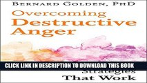 Collection Book Overcoming Destructive Anger: Strategies That Work