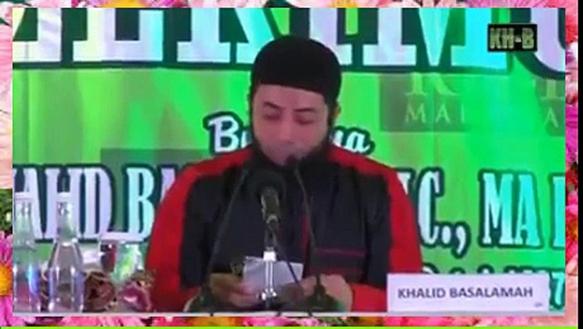 Amalkan, Doa Meminta dan Mempertahankan Rizki || Ust. DR Khalid Basalamah MA.