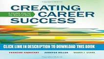 [PDF] Creating Career Success: A Flexible Plan for the World of Work (Explore Our New Career