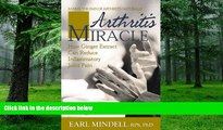 Big Deals  Arthritis Miracle: How Ginger Extract Can Reduce Inflammatory Joint Pain  Best Seller