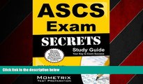 Choose Book ASCS Exam Secrets Study Guide: ASCS Test Review for the Air Systems Cleaning