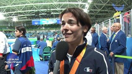 Sandrine Martinet - Médaille d'Or Judo -52Kg - Jeux Paralympiques Rio 2016