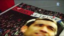 08-09-2016 Giovanni van Bronckhorst ontvangt het boek 'Feyenoord de Grootste'