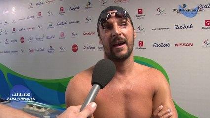 David Smétanine - Finale du 100m nage libre S4 - 4éme