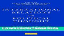 PDF [DOWNLOAD] International Relations in Political Thought